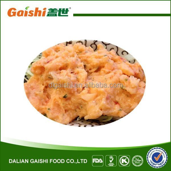 cr8 Frozen Halal Japanese Sushi Salad Seasoned Crawfish Salad Wholesale Manufacturer