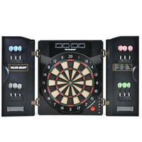2019 NEW Customized 4 LED Display 27 games 1-8 Players Electronic Dart Machine Electronic Dart Board with Cabinet