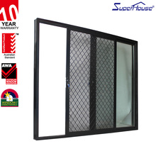 china wholesale market powder coated aluminum lowes sliding doors with steel security doors
