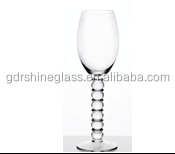 2016 Factory outlet Eco-Friendly and transparent red wine glass