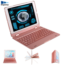 High quality mini bluetooth KSW181 keyboard case for ipad 9.7/pro 9.7/ air / air 2 bluetooth wireless backlight keyboard