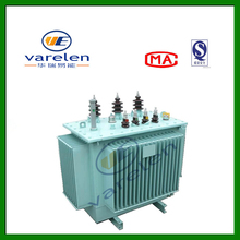 11kv,10kv 800kVA three phase double windings oil filled type distribution transformer with pressure relief valve