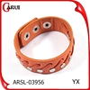 boys hand bands bracelet jewelry Fashion snap button Leather Bracelet