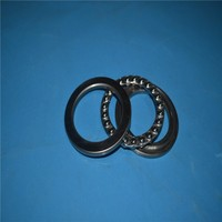stainless steel and full Zro2 ceramic bearings thrust ball bearing 51202
