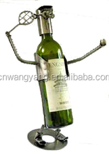 Robot design simple bottle wine holder
