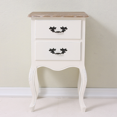 French countryside style nightstand table nightstand bedside table