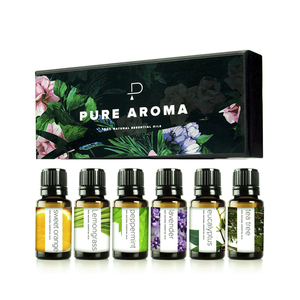Private label 100% pure natural organic aroma therapist body massage oil aromatherapy essential oil