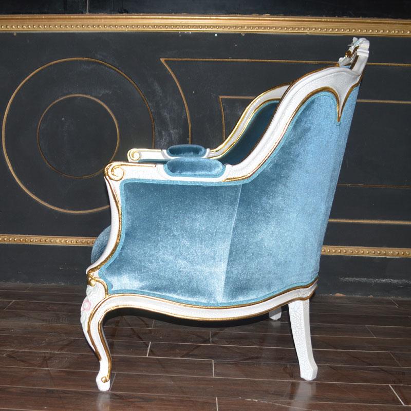 Italien classique mobilier design sculpté à la main en bois massif ...