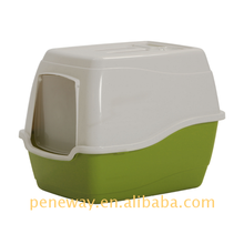 2017 hot new products plastic cat litter pan with drawer