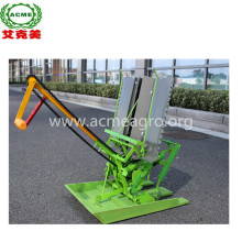 manual 2 row paddy rice transplanter machine price