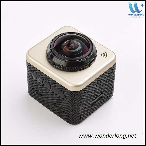 360 Degree WIFI Sports Video Action Panorama VR Camera for IOS for Samsung smart phone