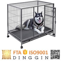 Cheap chain link Tube dog kennels cages