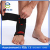Aofeite OEM Black Lace Up Ankle Boots Orthopedic Ankle supporter Brace
