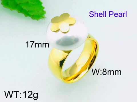 12g Wholesale Brazil Jewelry <strong>18</strong> Karat <strong>Gold</strong> Plated Pearl Ring