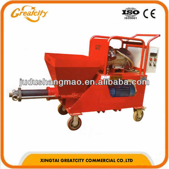 HSP-2 gypsum putty mortar spraying machine