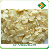 2016 Chinese Natural Creamy White dehydrated garlic sliced with root