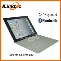 ILINK 2-in-1 Leather bluetooth keyboard portfolio stand case cover for ipad2/3/4