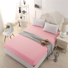 Home Textile Soft-Fit Spandex Contour Fitted Bed Sheets Covers Mattress Cover Protector kids Sheet adult Bedding