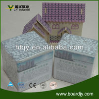 Fireproof composite construction material wallpaper