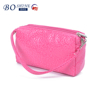 Hot new products for 2016 bulk wholesale PU coin purse fashion mini handle Coin Purse for girls
