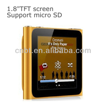 Hot MP4 Player, MP5 with 1.8inch Touch Screen