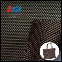 Polyester Jacquard Woven Fabric With PU/PVC Coating For Bags/Luggages/ShoesUsing