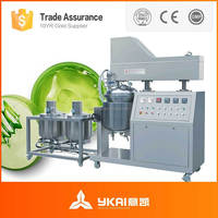 vacuum homogenizer Mayonnaise mixing equipment food and beverage processing/ manufacturing mixer