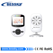 "Bessky battery powered 2"" LCD 2.4GHz Wireless Two-way Speaker Video Camera Baby Monitor"