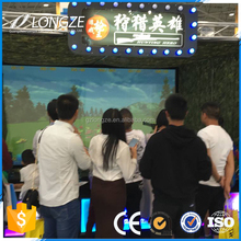 IAAPA Exhibition Promotion Hunting Hero Soldier Gun Virtual Reality Laser Target Shooting System