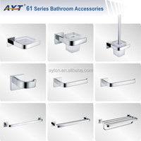 Stainless steel price bathroom accessories sets , bath accessory set, bathroom fitting 61series of AYT