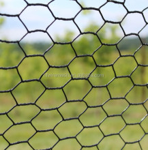 Hexagonal sheet PVC coated or galvanized Hexagonal Wire Mesh animal cage