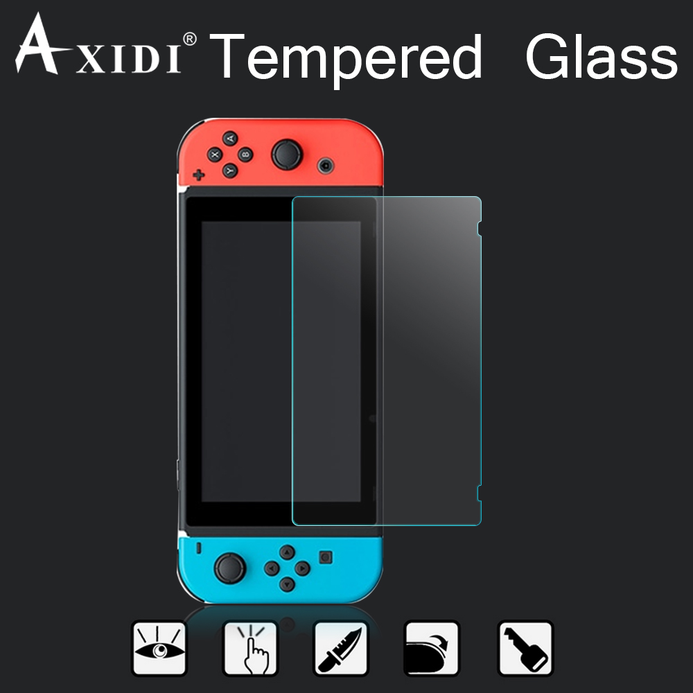 Wholesale price high clear screen protector tempered glass for Nintendo Switch screen guard