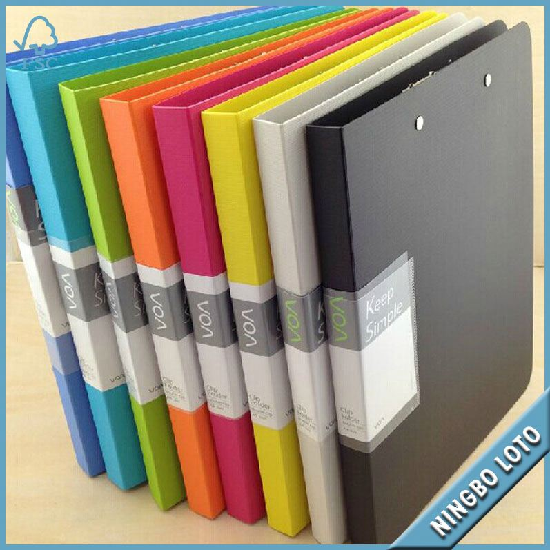 Hot sale new design a2 plastic file folder