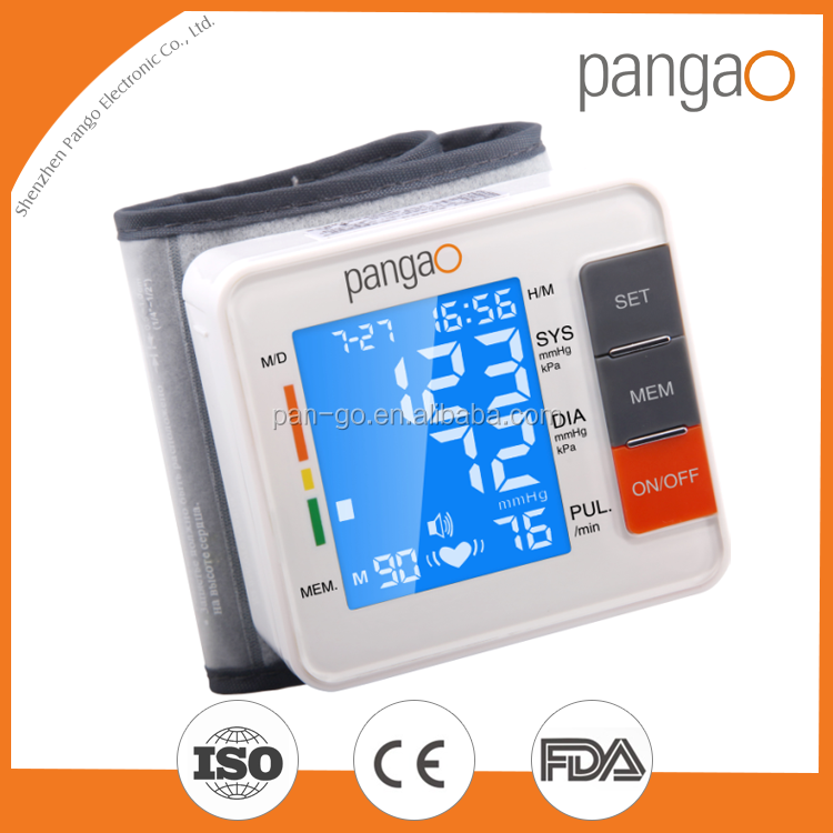 A Blood Pressure Monitor with CE0413 and FDA