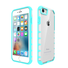 for iphone 7 case clear pc cover tpu bumper hybrid cases