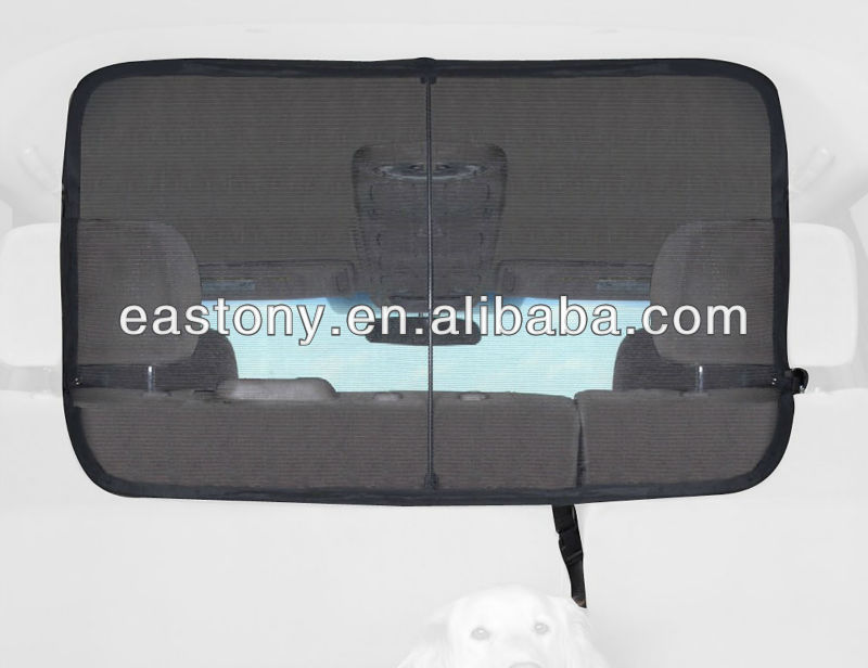 Safety Car Folding Pet Barrier Net for Dogs