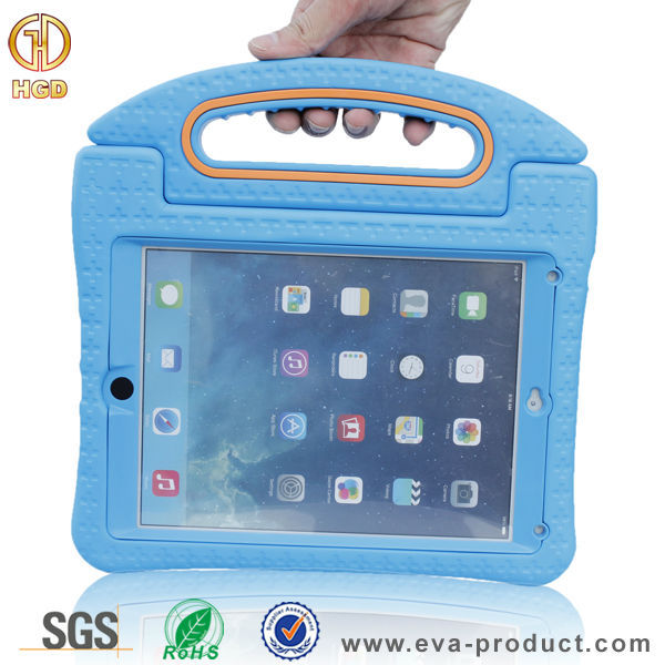 2015 new arrival shockproof plastic case for ipad air 2 with holder