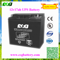 Rechargeable Maintenance Free Storage MF SLA 12V18AH UPS Deep Cycle Battery