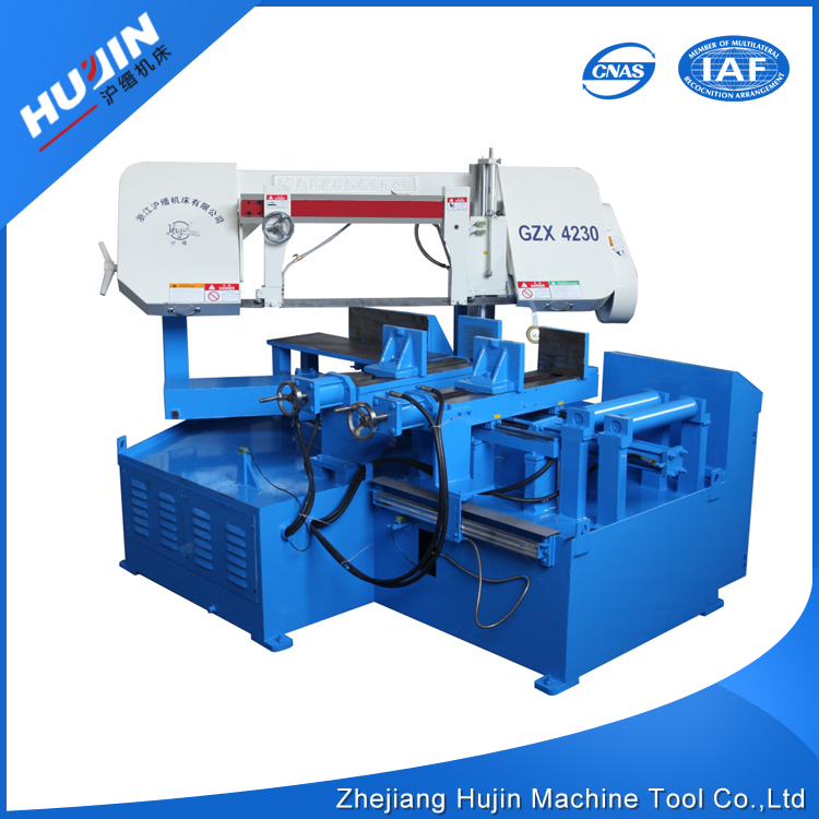 Prompt Delivery Safety Item Full Automatic Smart NC Programmable Swivel Head Mitering Angel Cutting Pipe Band Saw Machine