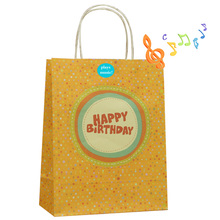 Wholesale music paper bag for different occasions