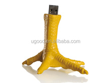 Chicken Feet shape usb flash drive,Manufacturer bulk cheap Usb flash memory,2014 promotional usb flash stick with high quality