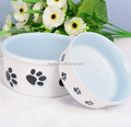 wholesale personalized ceramic stoneware dog bowls