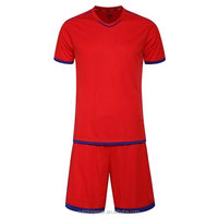 2015/2016 wholesale thai quality blank football shirt maker customzied sublimation cheap kids soccer jersey