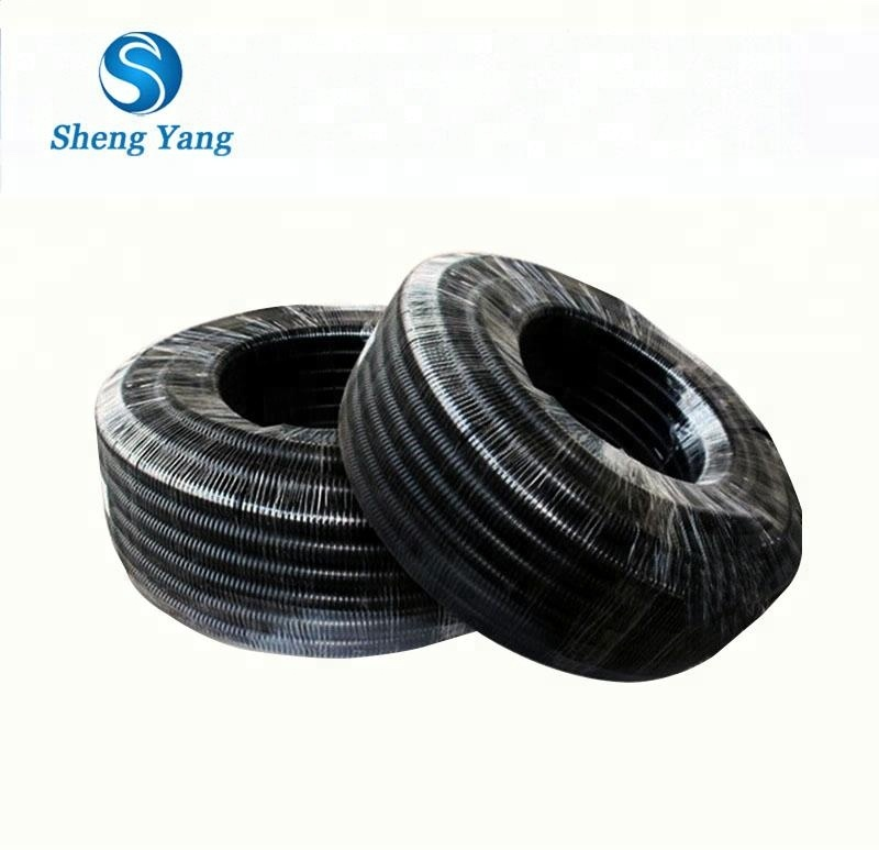 SY Flexible Corrugated Wire Protection Plastic Conduit Tubing