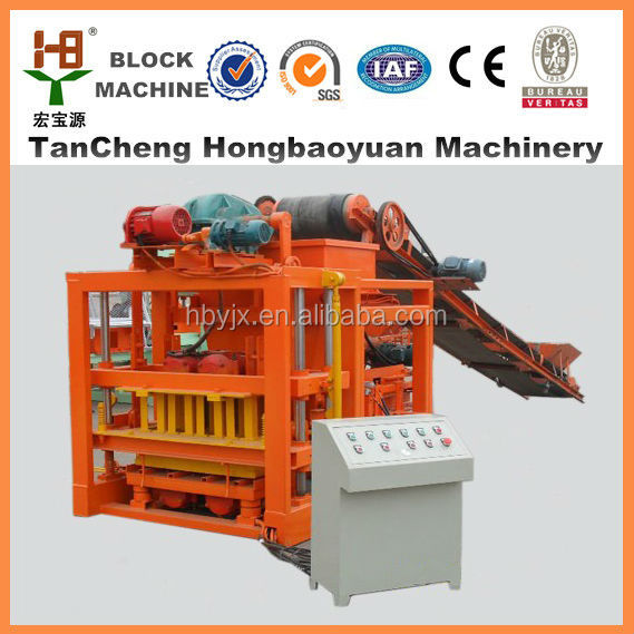concrete production making manufacturing QTJ4-28 Wall forming /house building machinery