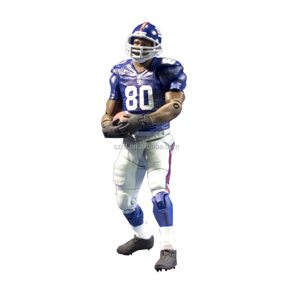 football player action figure/custom pvc football figure/new design sport action figures