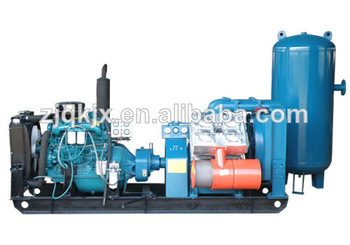 diesel stationary piston air compressor/piston air compresor for mining