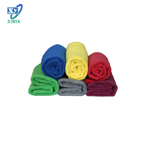 China microfiber car cleaning towel for sale