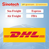 DHL express courier service door to door from China to Globe