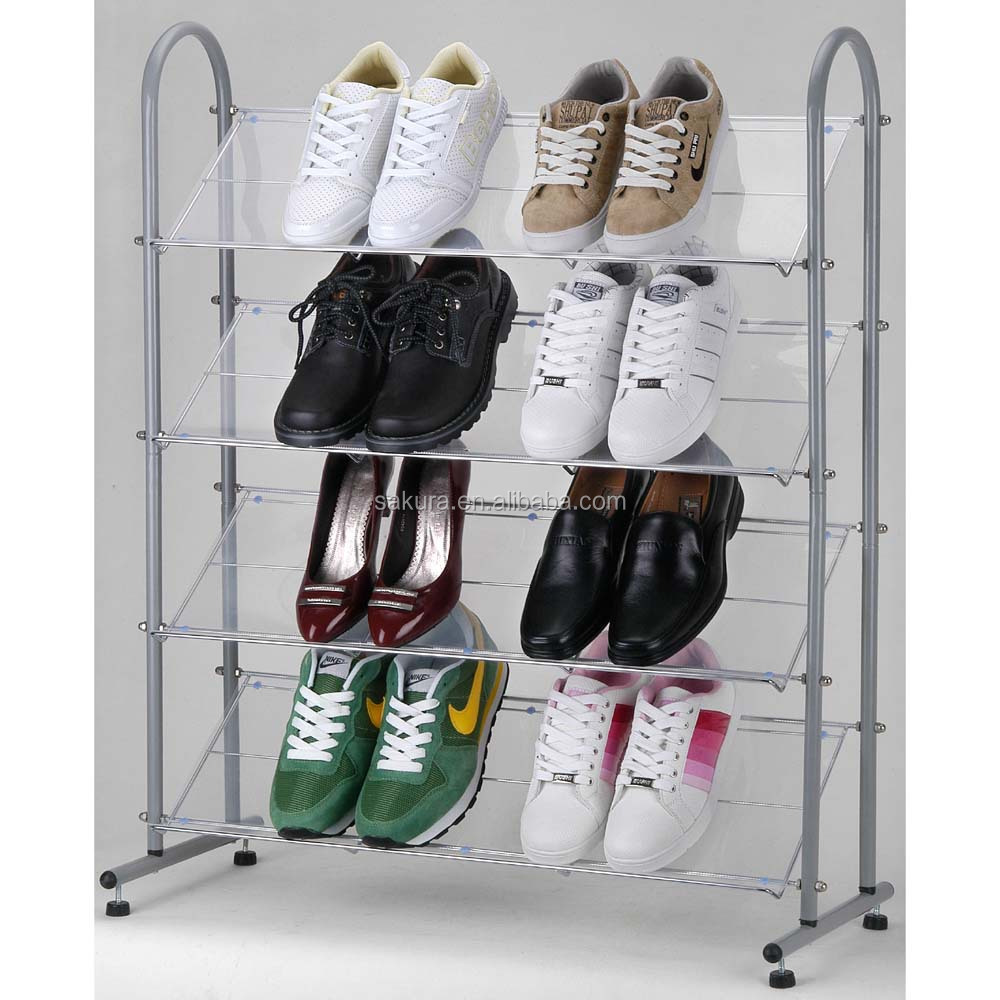 household bathroom Shoes rack storage rack wire rack